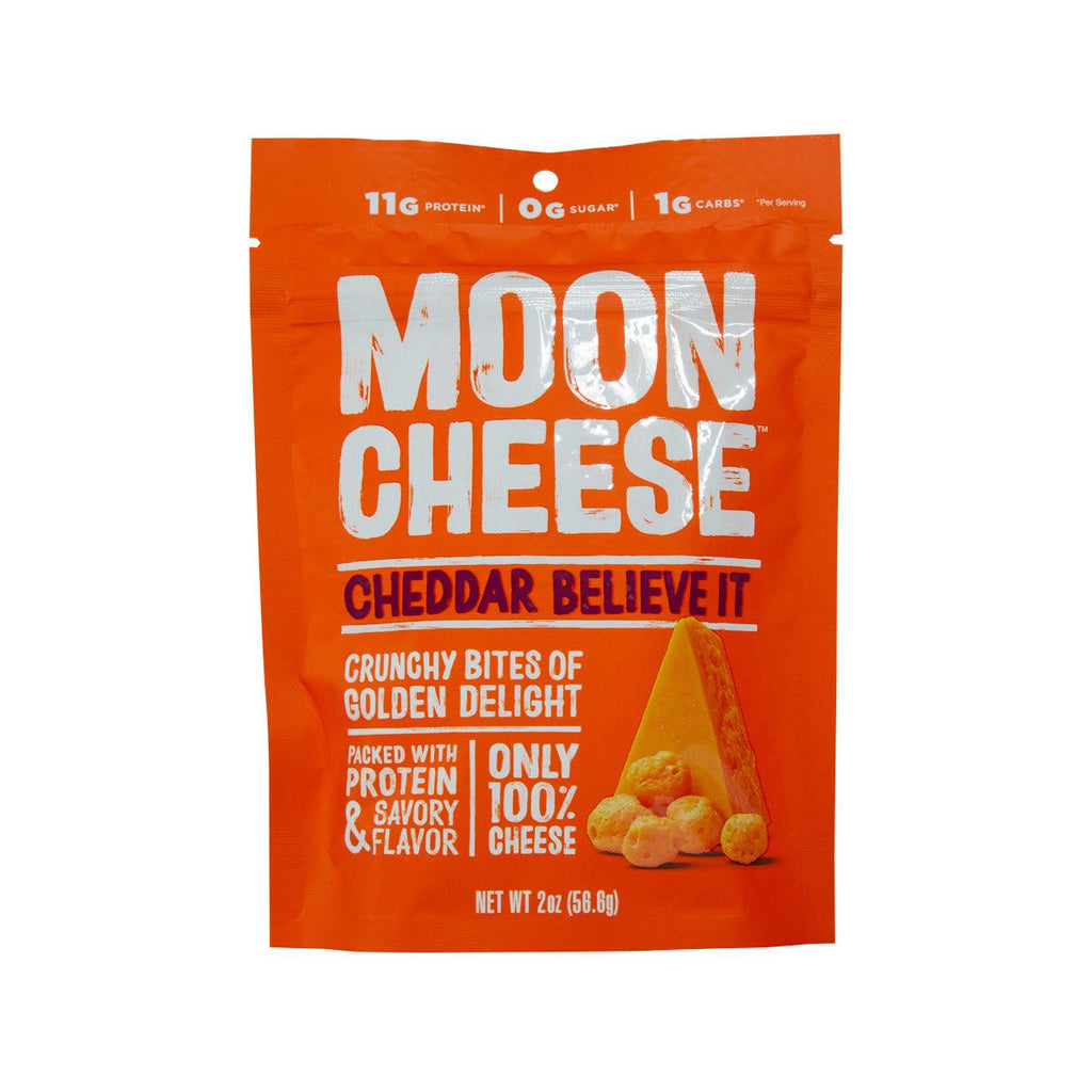 MOON CHEESE Cheese Snack - Cheddar  (56.6g)
