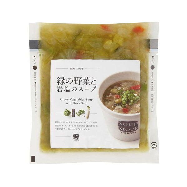 SOUPSTOCK Green Vegetables Soup With Rock Salt  (180g)