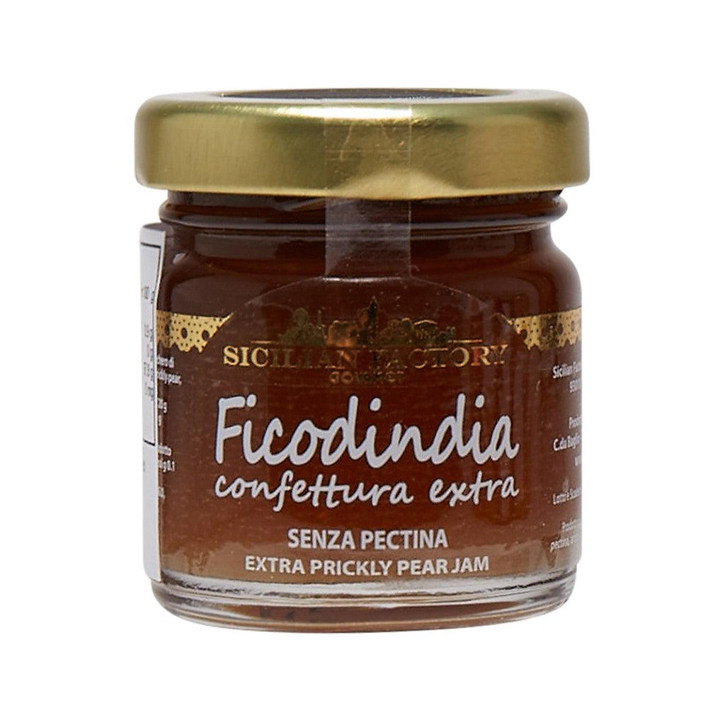 SICILIAN FACTORY Prickly Pear Jam  (50g)