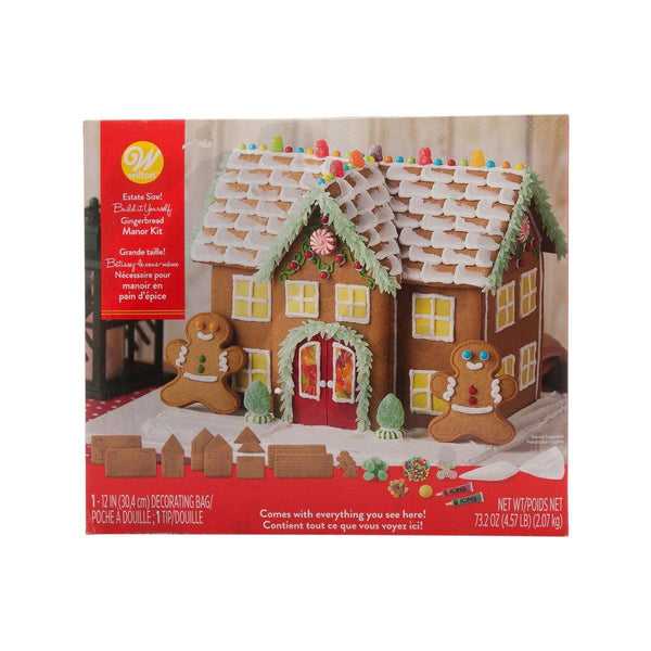 WILTON Gingerbread Manor DIY Kit - Unassembled  (2.07kg)