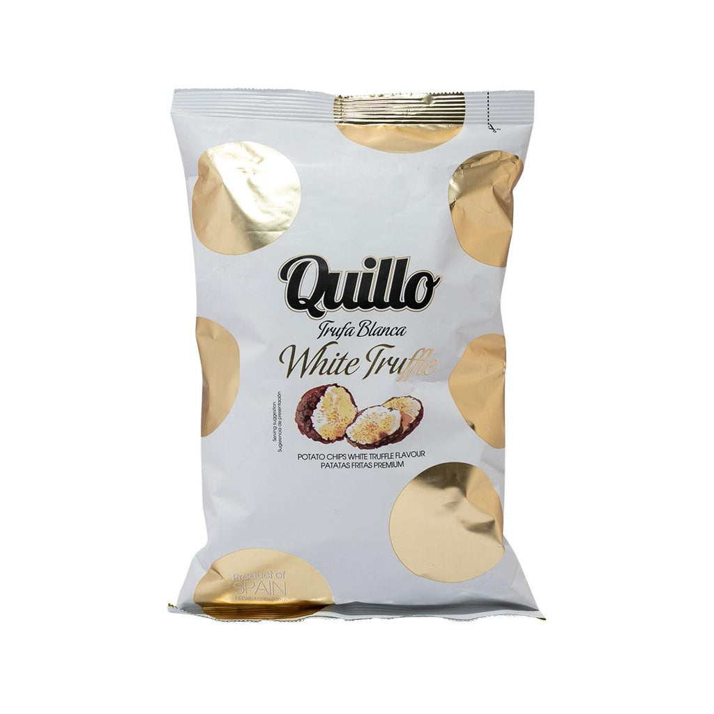 QUILLO Potato Chips - White Truffle Flavor  (130g)