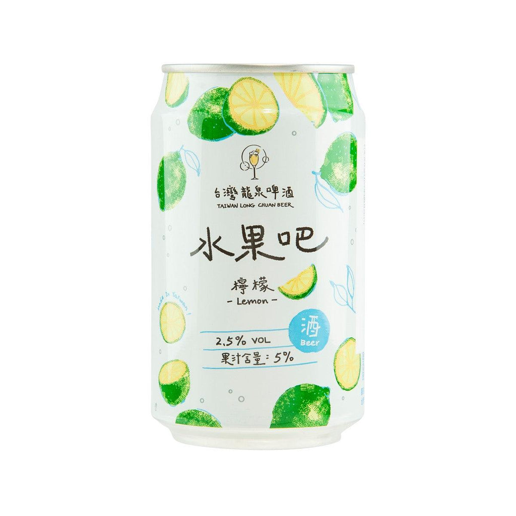 TAIWANLONGCHUANBEER Fruit Beer - Lemon Flavor (Alc. 2.5%) [CAN]  (330mL)