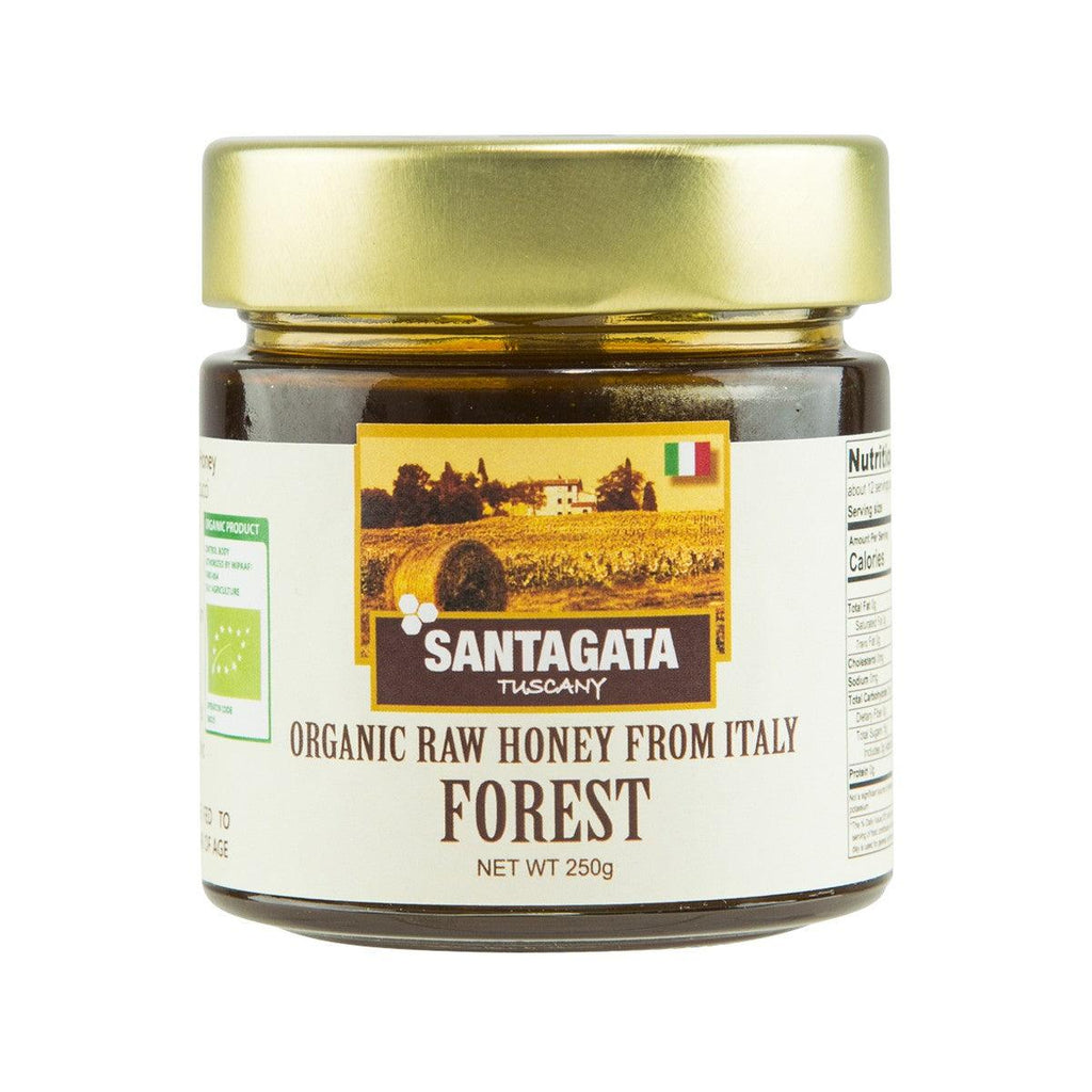SANT' AGATA Organic Raw Honey From Forest  (250g)