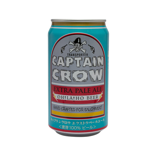 OHLAHO Captain Crow Extra Pale Ale (Alc 5%) [Can]  (350mL)