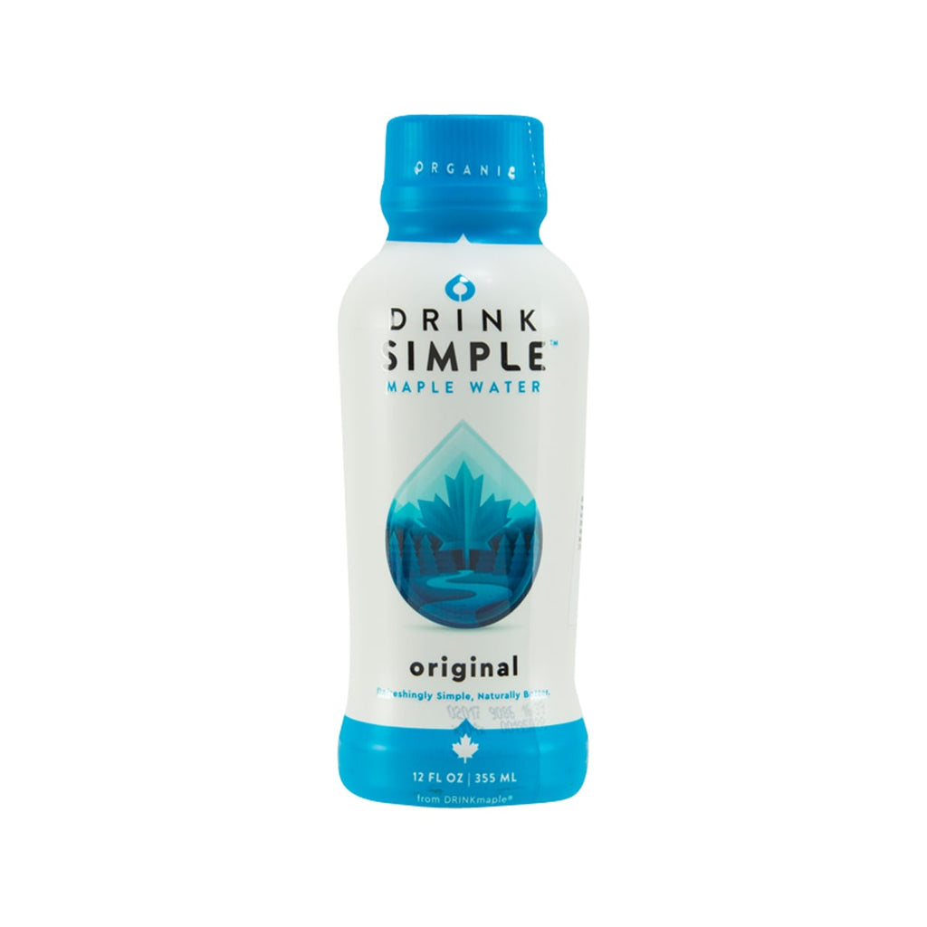 DRINK SIMPLE Organic Original Maple Water  (355mL)
