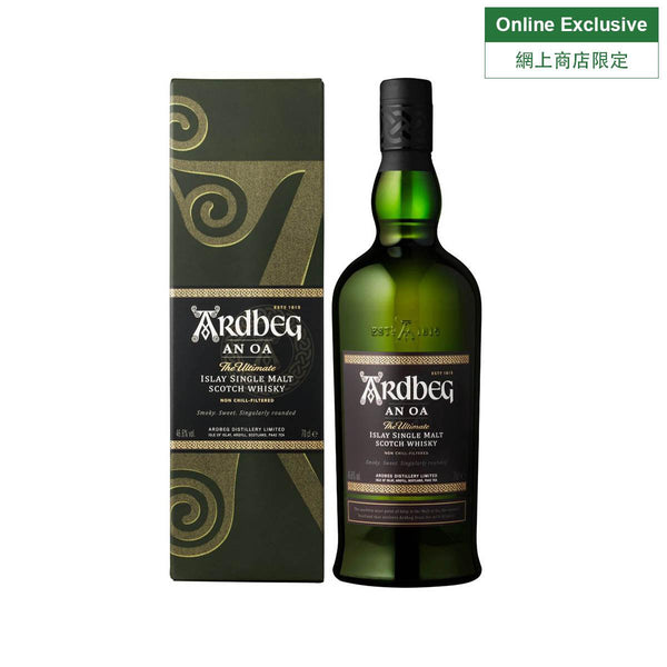 ARDBEG An Oa Single Malt Whisky NV (700mL)