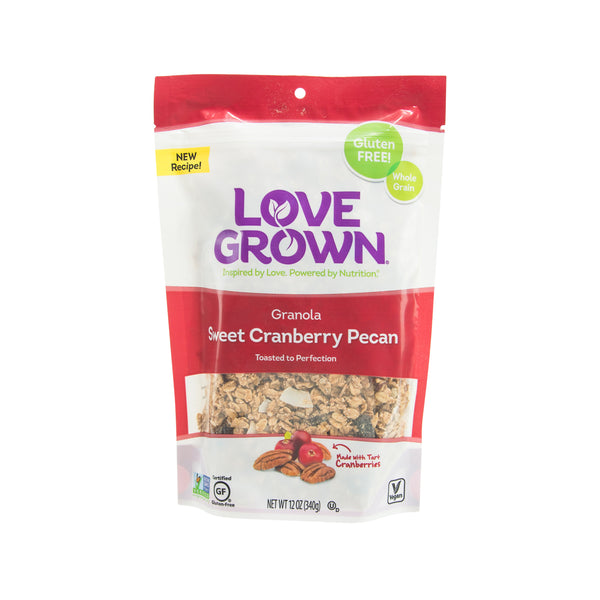 LOVE GROWN Sweet Cranberry Pecan Granola  (340g)