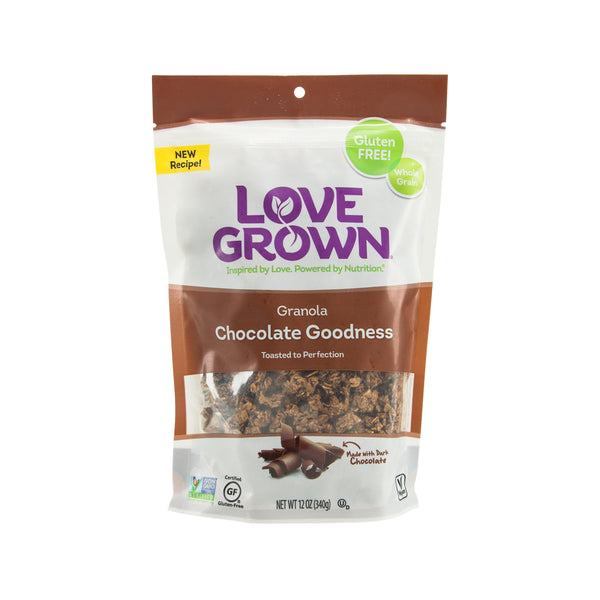 LOVE GROWN Chocolate Goodness Granola  (340g)