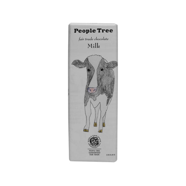 PEOPLETREE Fair Trade Chocolate - Milk  (50g)