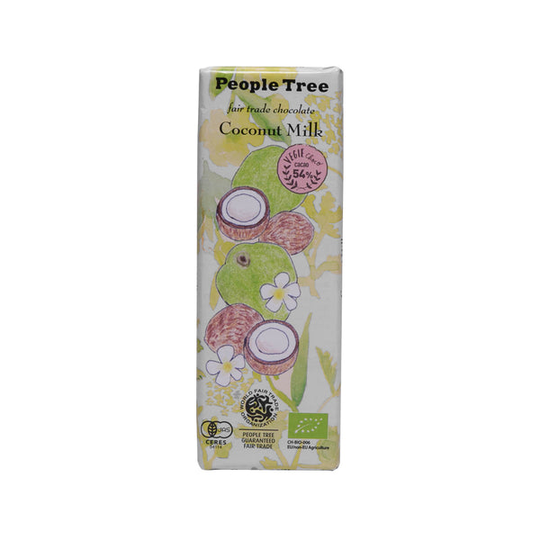 PEOPLETREE Fair Trade Chocolate - Coconut Milk  (50g)