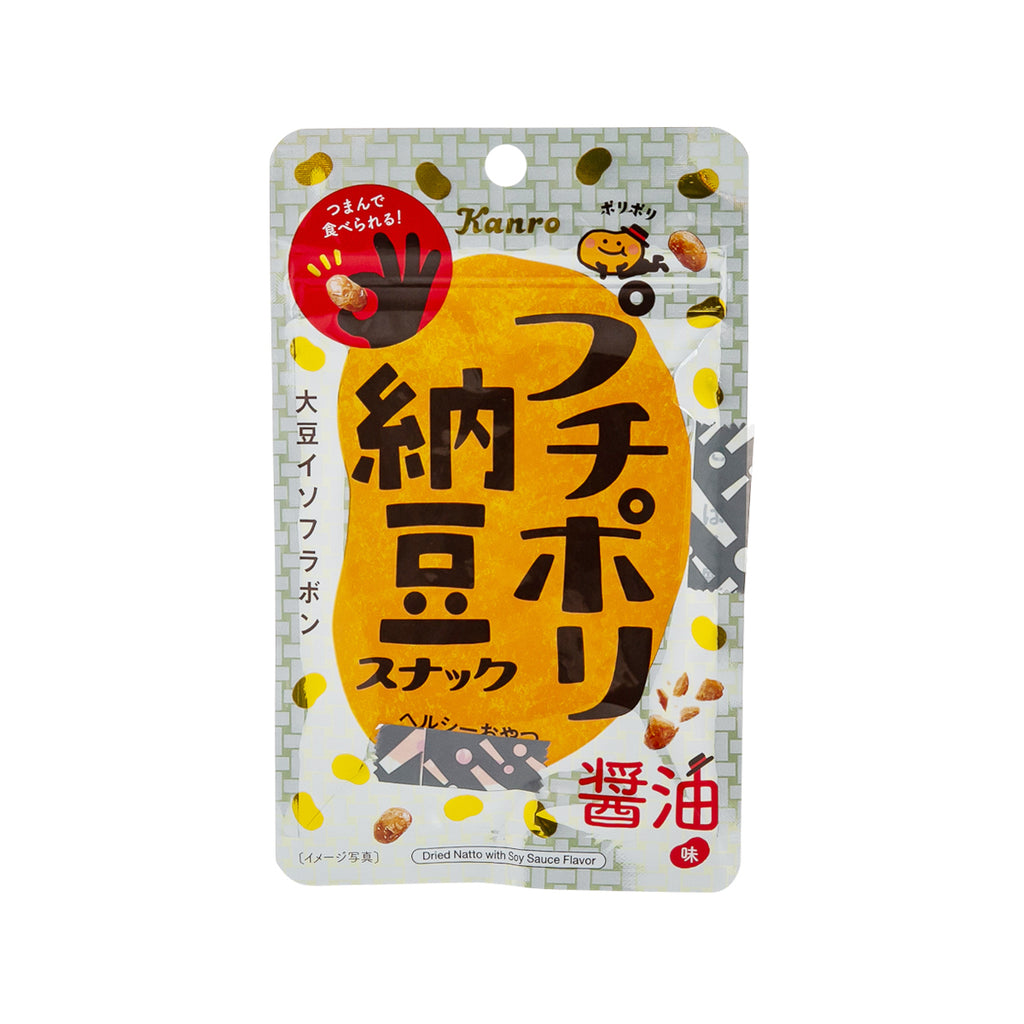 KANRO Dried Natto with Soy Sauce Flavor  (20g)