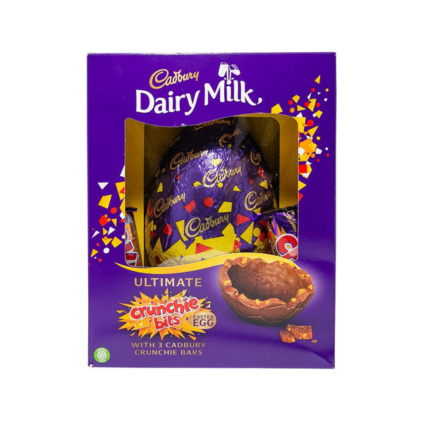 CADBURY Dairy Milk Ultimate Crunchie Bits Chocolate Easter Egg With Chocolate Bars (570g)