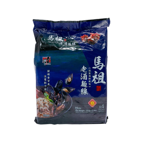 WU-MU Dried Noodle - Mussels & Seafood Flavor  (352g)