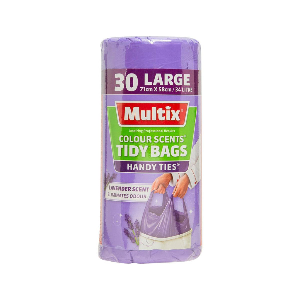 MULTIX COLOUR SCENTS TIDY BAGS L - LAV 71x58cm  (30 pcs)