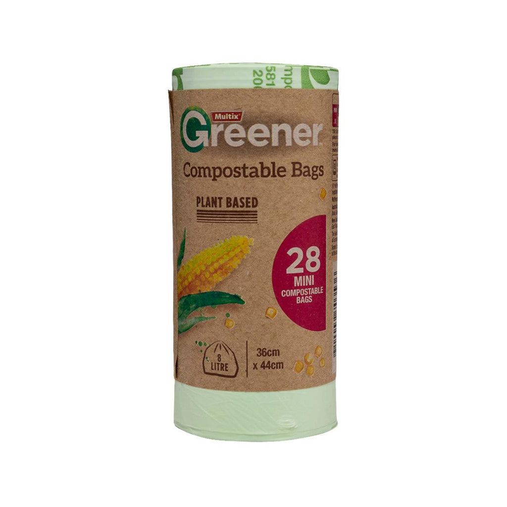 MULTIX COMPOSTABLE BAG - MINI-8L  37x44cm  (28 pcs)