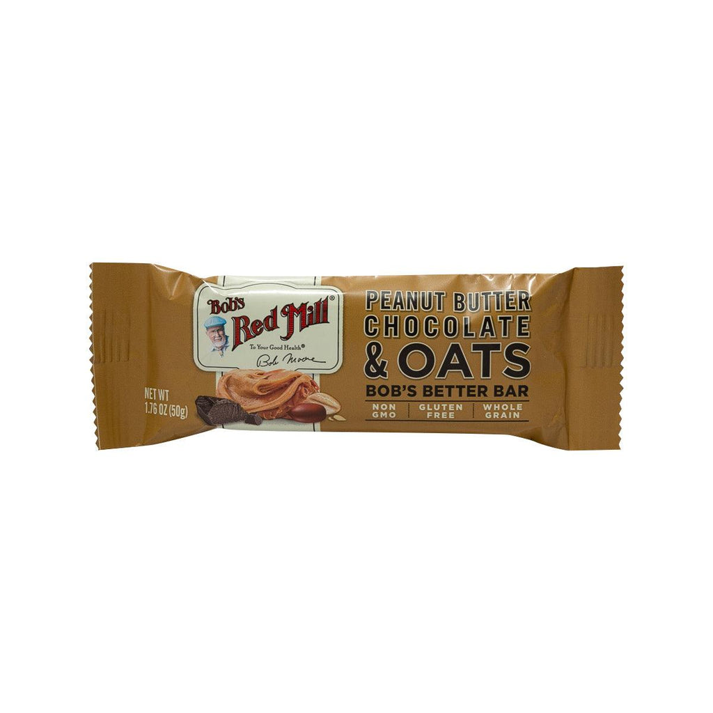 BOB'S RED MILL Peanut Butter Chocolate & Oats Bar  (50g)