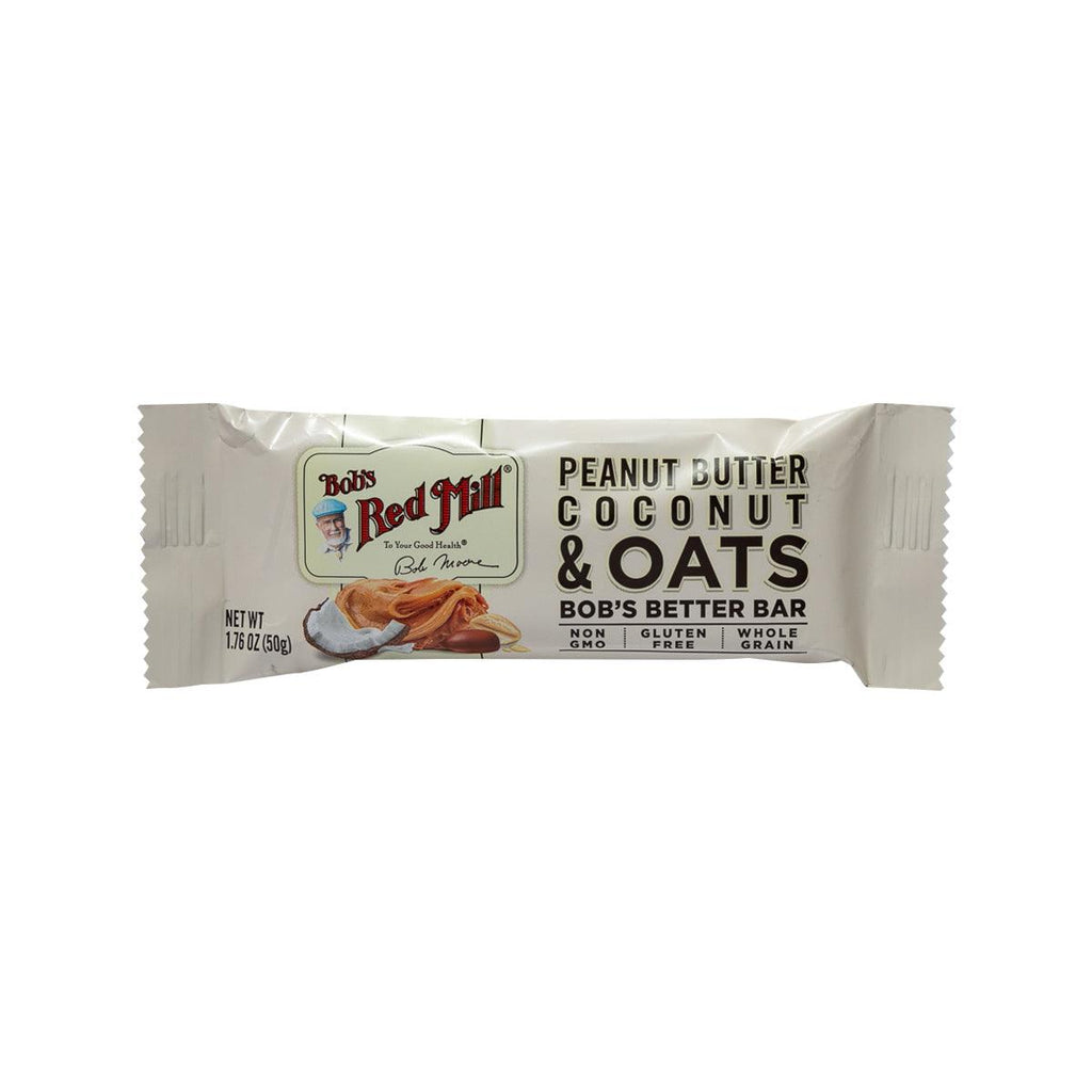 BOB'S RED MILL Peanut Butter Coconut & Oats Bar  (50g)