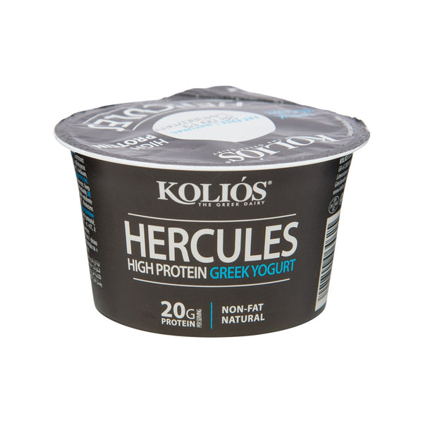 KOLIOS Hercules High Protein Greek Yogurt - 0% Fat  (200g)