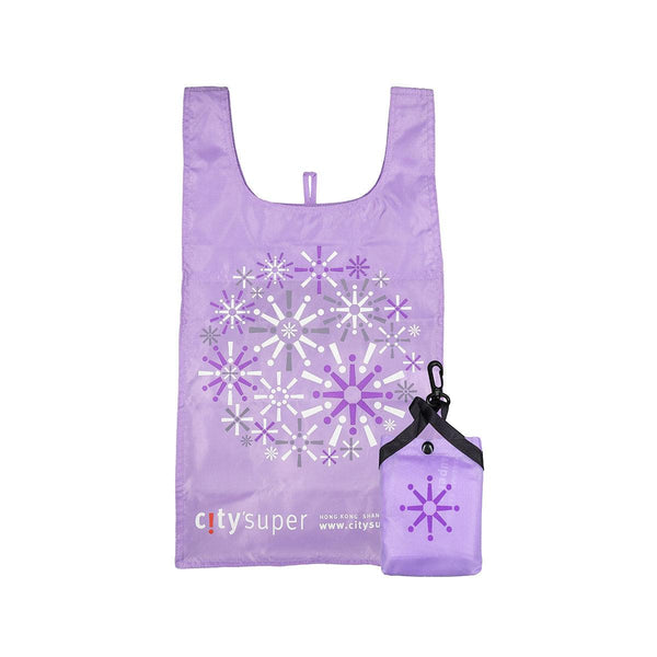 CITYSUPER Firework Pattern Environmental Pocketable Bag-Mauve