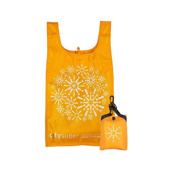 CITYSUPER Firework Pattern Environmental Pocketable Bag-Sunshine
