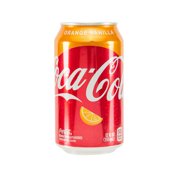 COCA COLA Coke with Orange Vanilla Flavor - USA [Can]  (355mL)