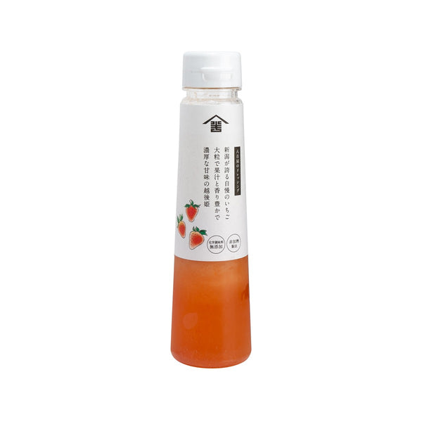 NOJIMA Hangobei Dressing - Echigohime Strawberry (200mL)