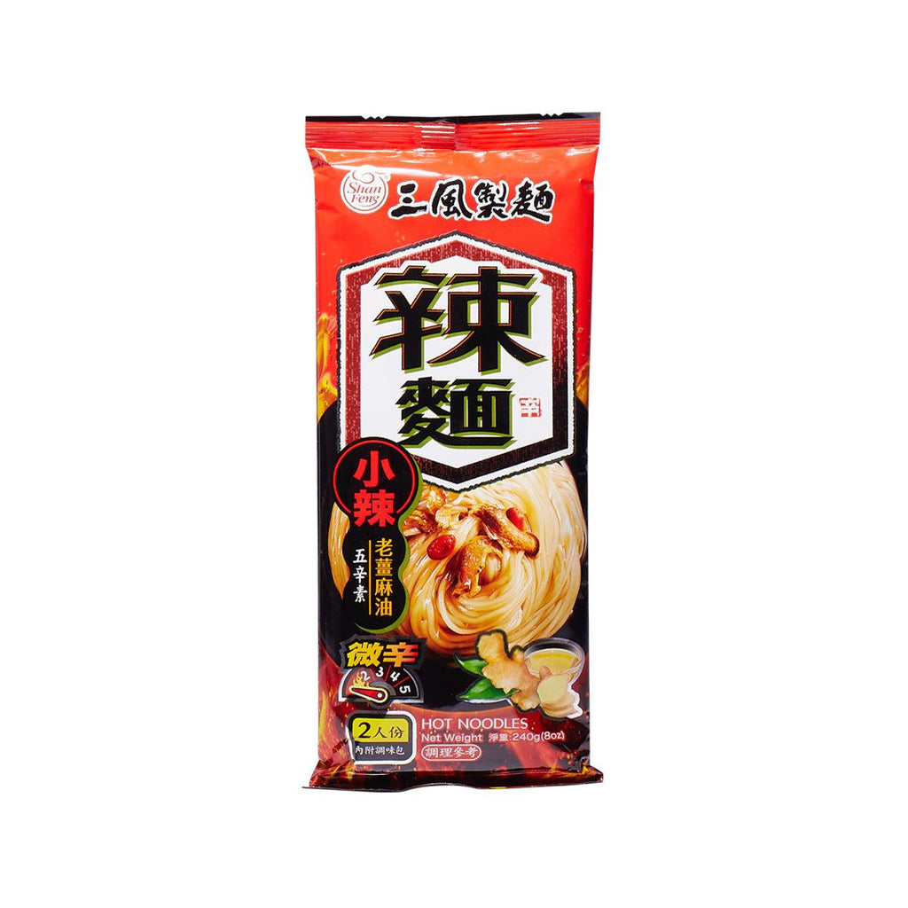 SHAN FENG Old Ginger Sesame Oil Noodles  (240g)