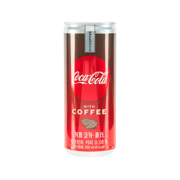 COCA COLA Coca Cola With Coffee - Korea [CAN]  (250mL)