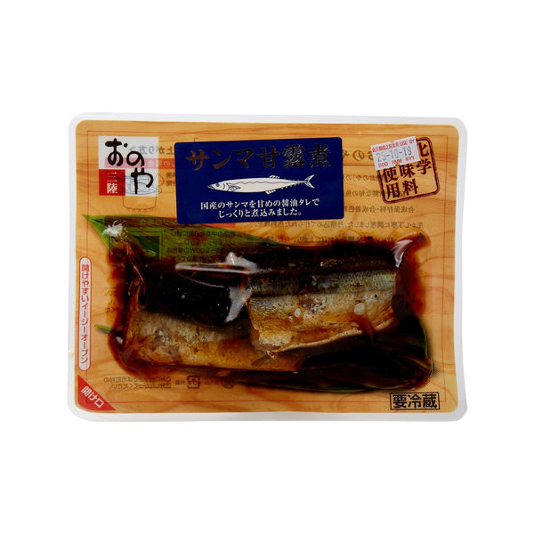 ONOSYOKUHIN Cooked Saury Fish With Sweet Sauce  (100g)