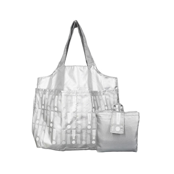 CITYSUPER Foldable Environmental Bag With Printed Pockets (L) - Silver