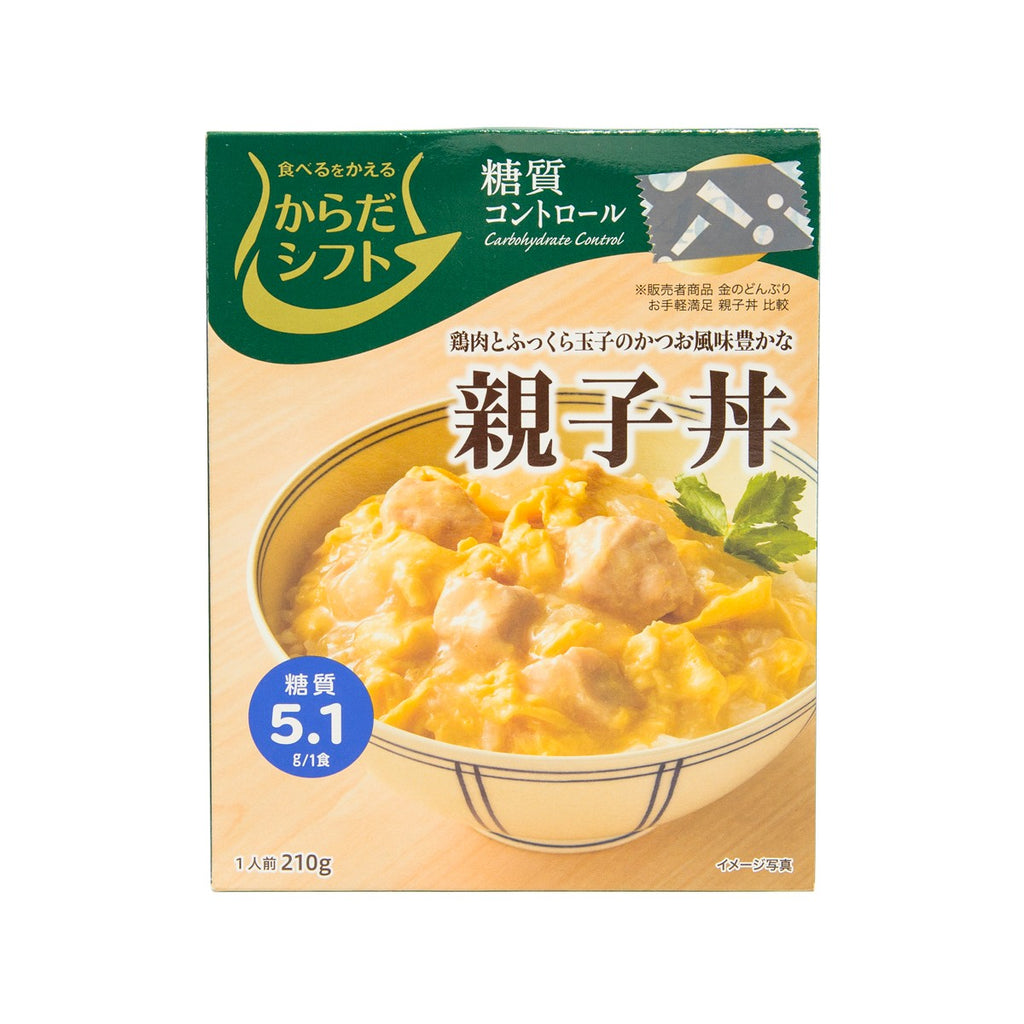 MARUHANICHIRO Karada Shift Carbohydrate Control Chicken & Egg Rice Topping  (210g)