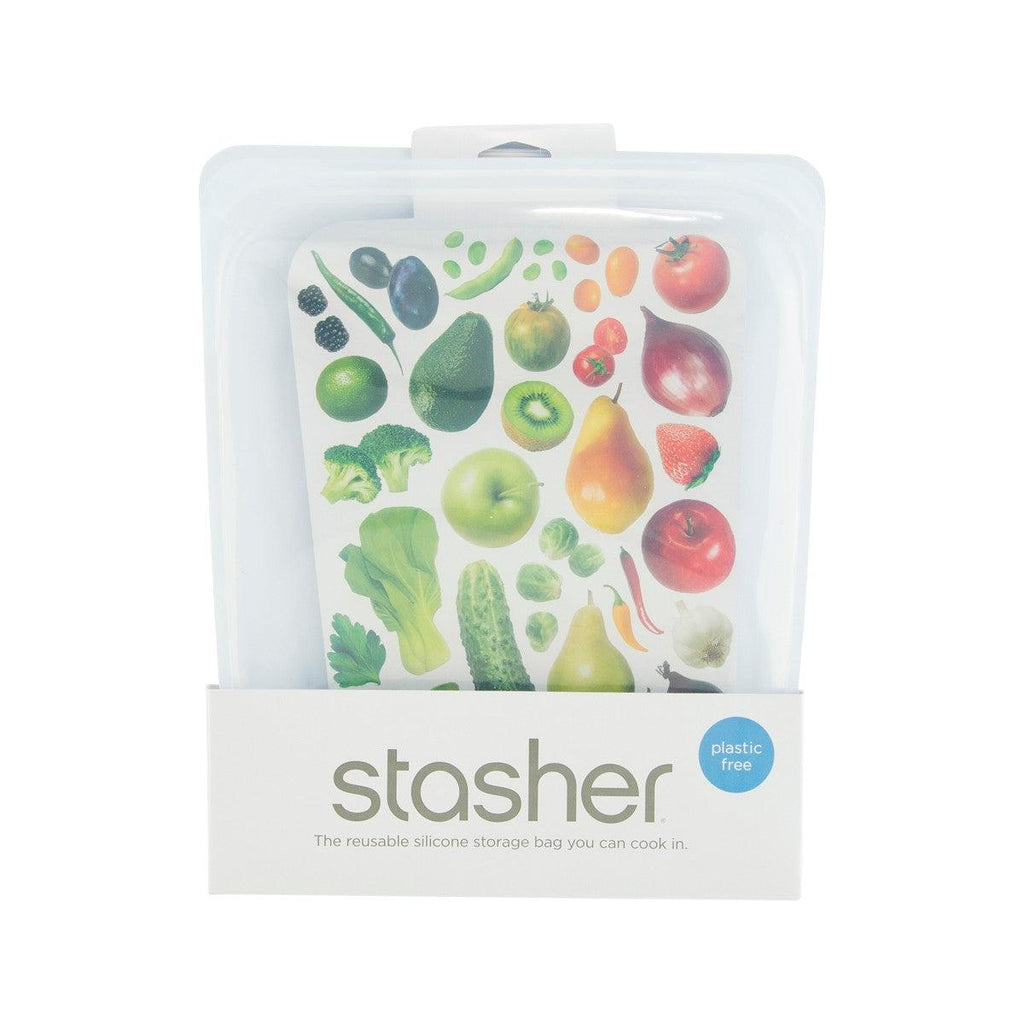 STASHER Half Gallon 1.92L Clear