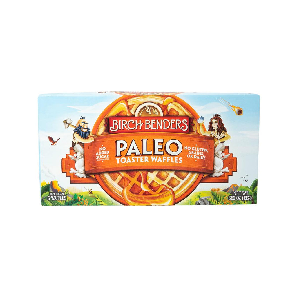 BIRCH BENDERS Paleo Toaster Waffles  (186g)