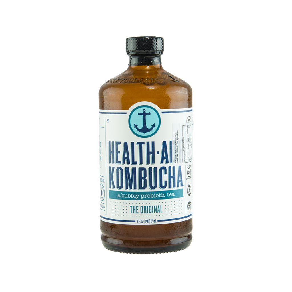 HEALTH ADE KOMBUCHA Organic Raw Kombucha - The Original  (473mL)
