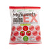 SHIMONITA Konnyaku Jelly Ex - Apple  (132g)