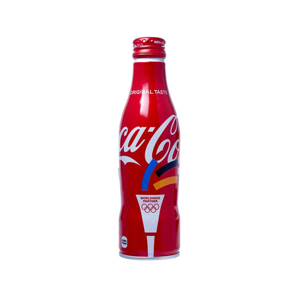 COCA COLA Coke - Olympics Sacred Fire (Japan) [Aluminum Bottle]  (250mL)