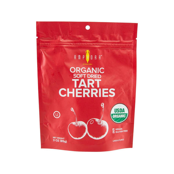 AMPHORA Organic Soft Dried Tart Cherries  (85g)