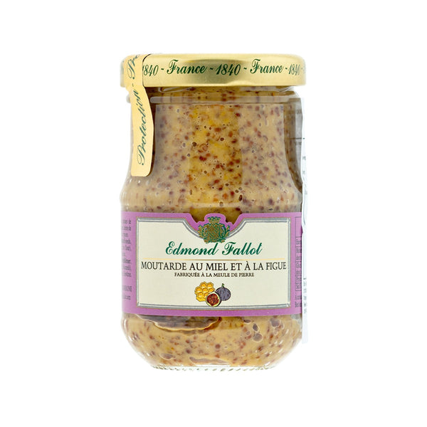EDMOND FALLOT Mustard With Honey & Fig  (100g)
