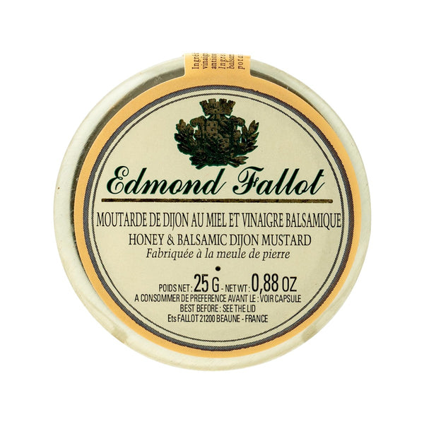 EDMOND FALLOT Honey & Balsamic Dijon Mustard  (25g)