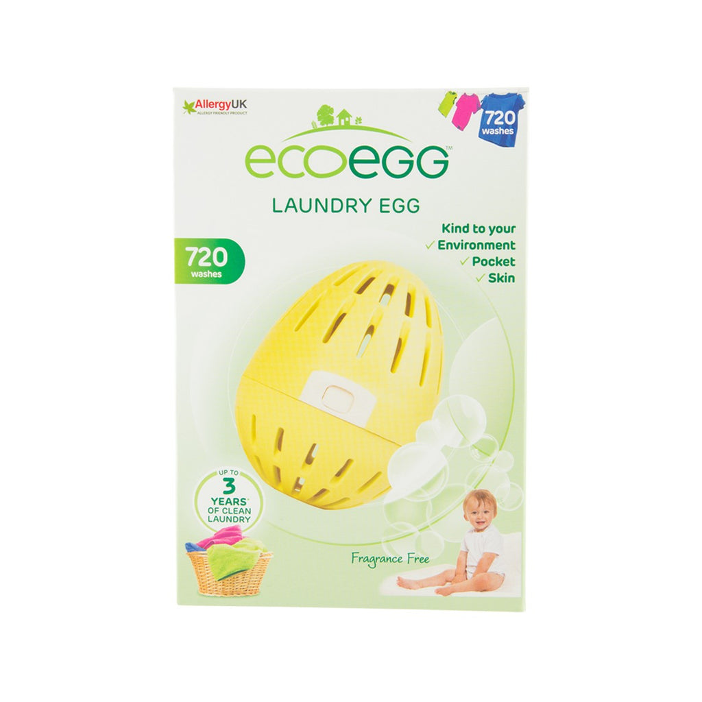 ECO EGG Laundry Egg - Fragrance Free [720 Washes]