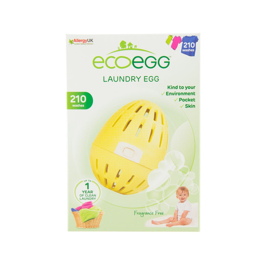 ECO EGG Laundry Egg - Fragrance Free [210 Washes]