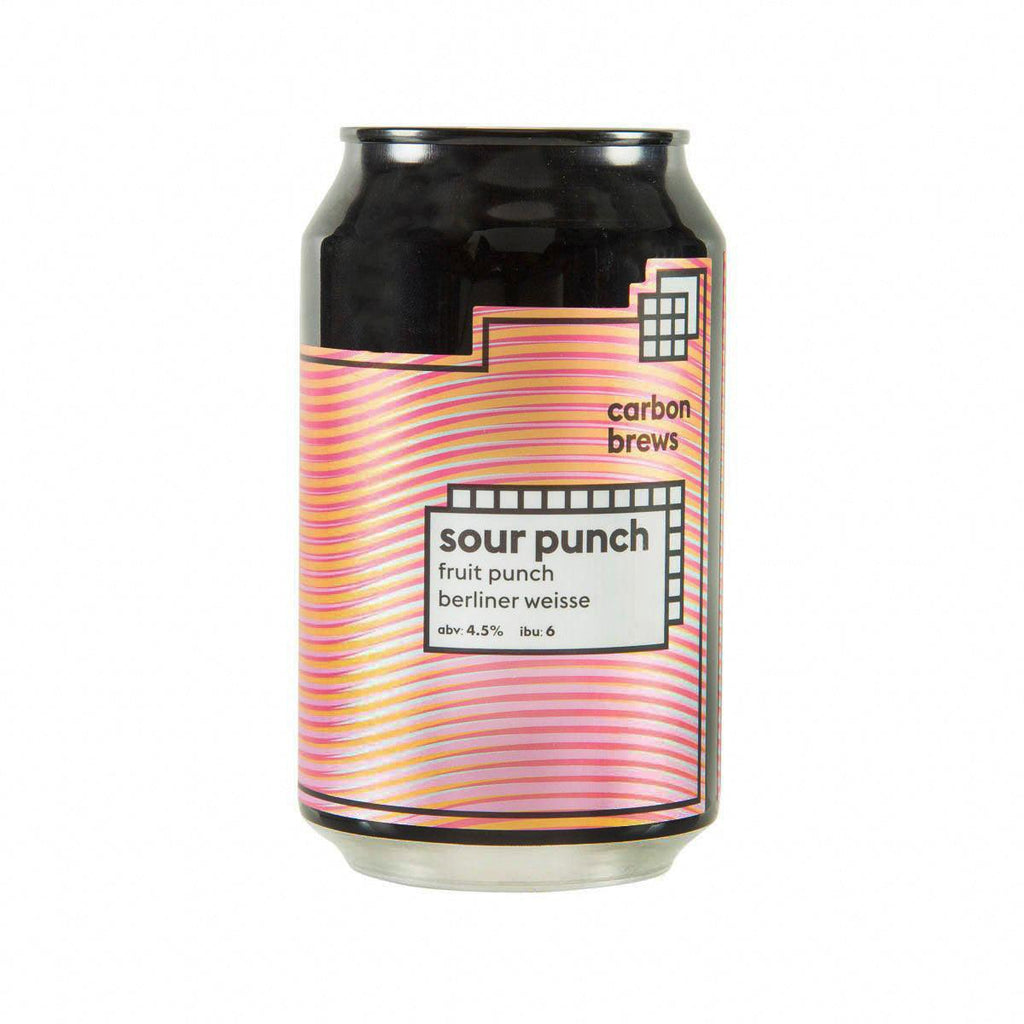 CARBON BREWS Sour Punch Fruit Punch Berliner Weisse (Alc 4.5%) [CAN]  (330mL)