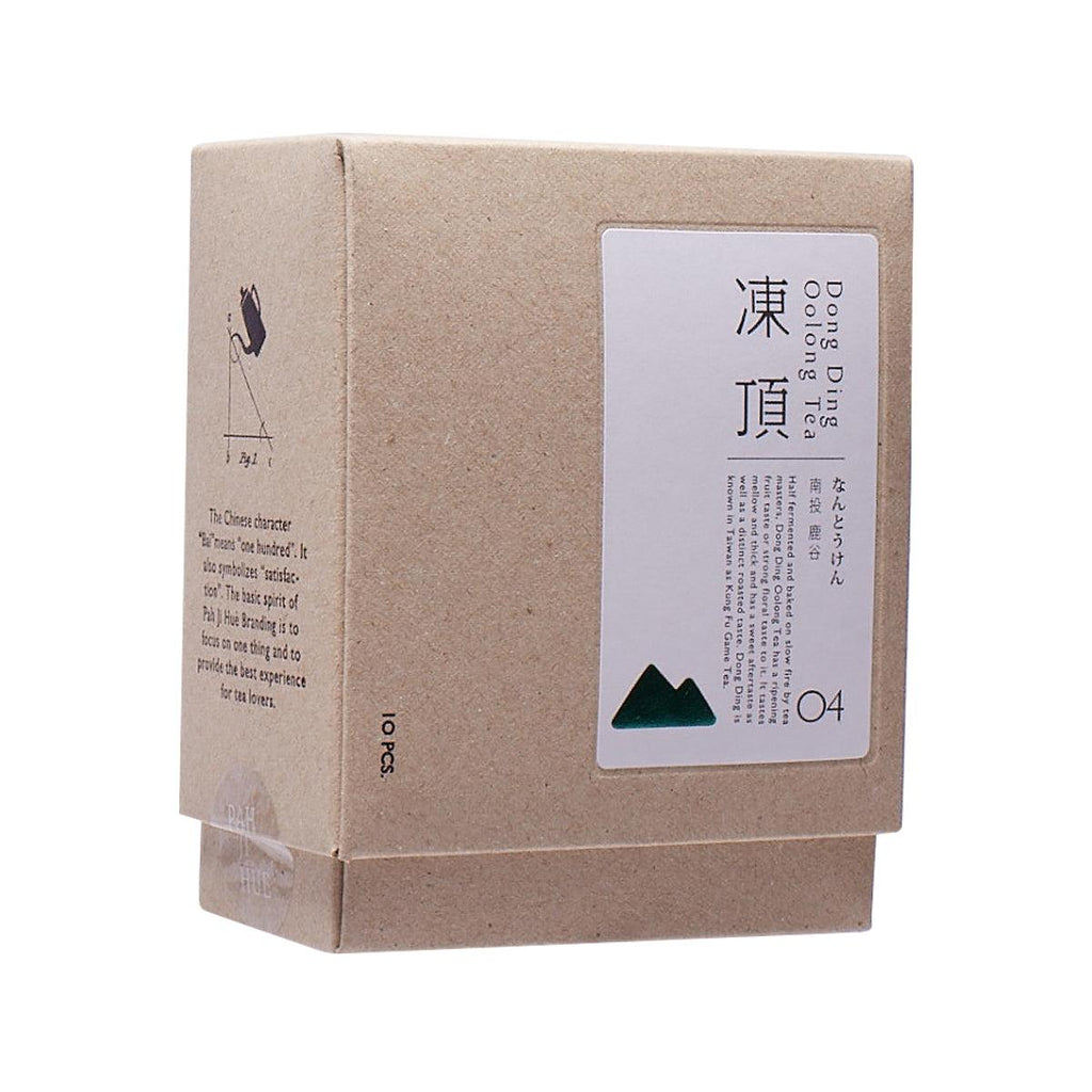 BAI ER SUI Drip Bag Tea - Dong Ding Oolong Tea  (10 x 3g)