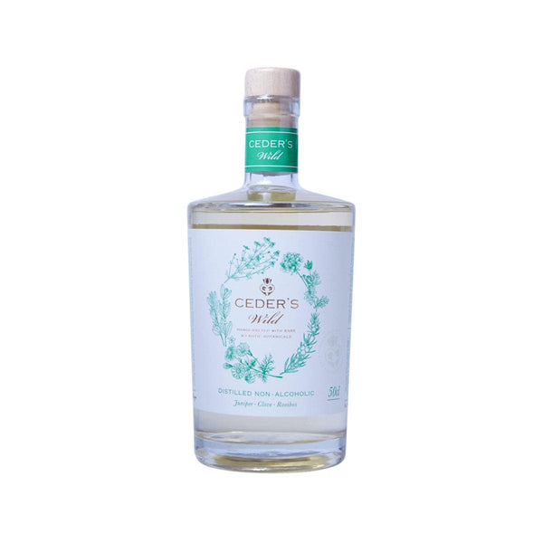 CEDER'S Distilled Non-Alcoholic Gin - Wild  (500mL)