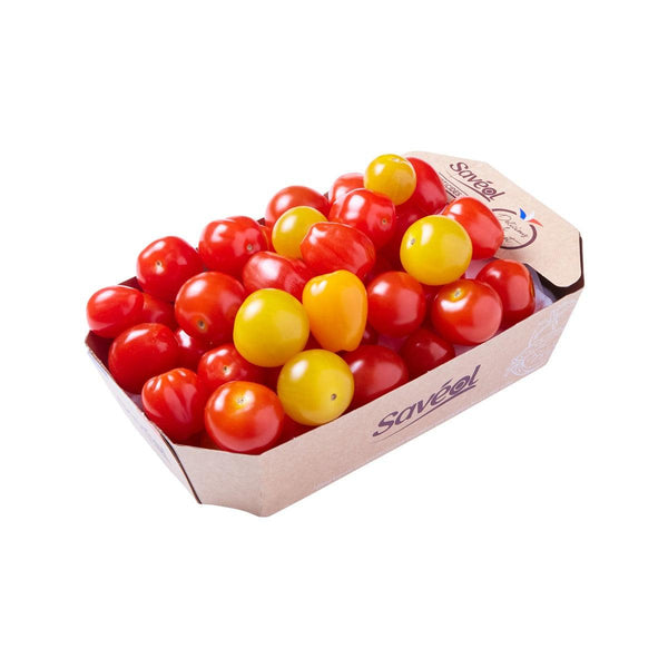 SAVEOL French Mixed Cherry Tomato (Without Using Synthetic Pesticides)  (350g)