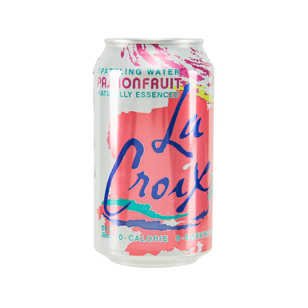 LACROIX Sparkling Water - Natural Passion Fruit Essenced  (355mL)