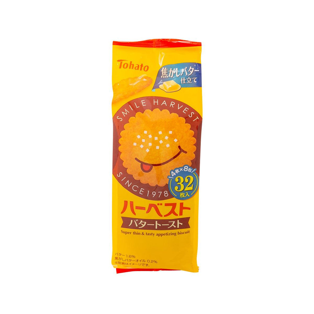 TOHATO Harvest Biscuit - Butter Toast Flavor  (32pcs)