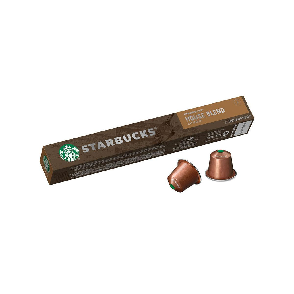 STARBUCKS House Blend Lungo Coffee Capsules  (57g)