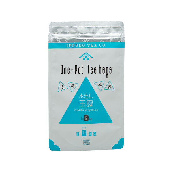 IPPODO One Pot Tea Bags - Cold Brew Gyokuro  (42g)