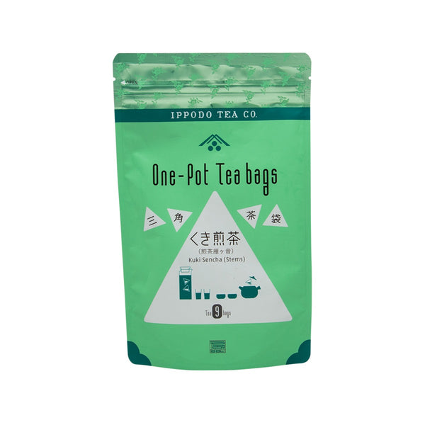 IPPODO One Pot Tea Bags - Kuki Sencha Stems  (63g)